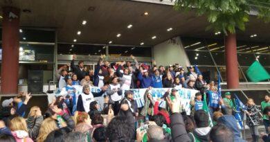 Echeverría: Multitudinaria movilización en contra de las tarifas