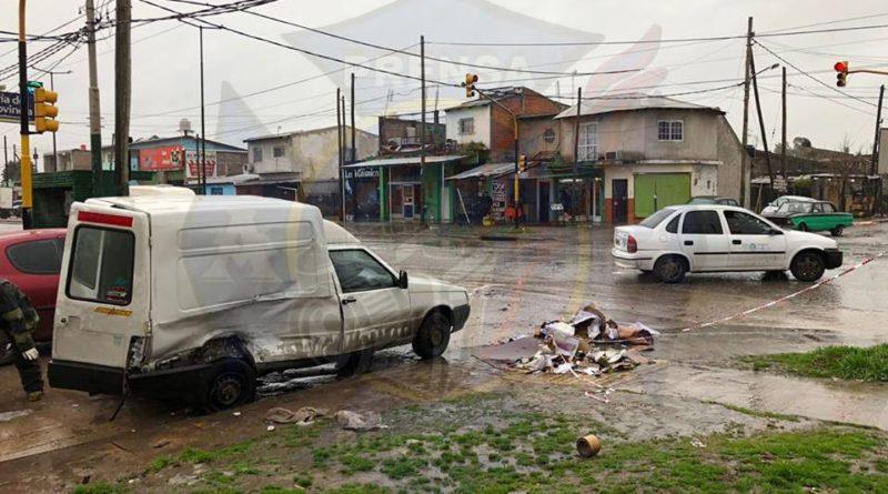 Chocan dos autos en San José