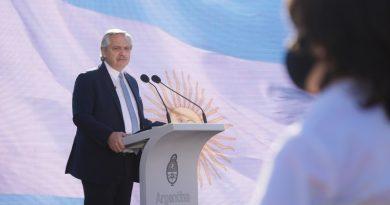 """Alberto Fernández: """"La Patria somos todos nosotros"""""""